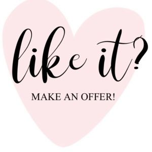 ❤️REASONABLE OFFERS ACCEPTED❤️